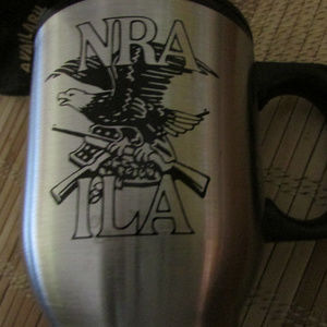 NRA ILA Stainless Steel Travel Coffee Mug